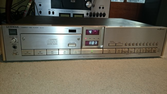 Luxman D-03 CD Player c1984