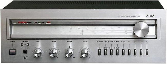 Aiwa 7300 AM-FM receiver