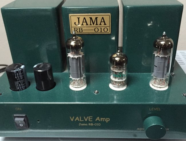 JAMA RB-010 single ended el 84 tube amp