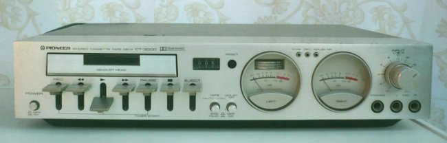 Stereo Cassette Tape Deck CT-3000