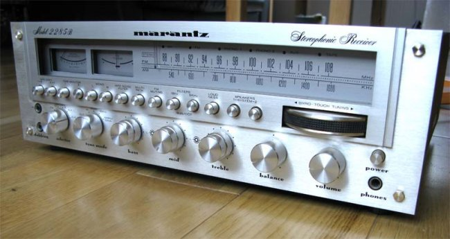 Marantz 2285B Receiver, found in a skip, really..