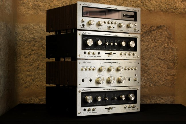 1970s Marantz tower