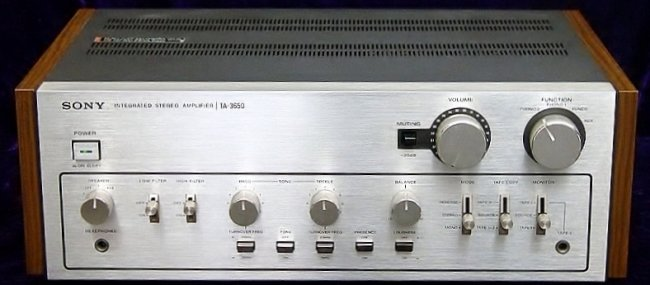 Sony TA-3650 integrated amplifier