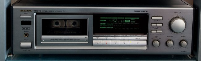 Onkyo Integra TA-2870 Tape Deck, silver