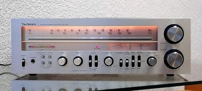 Technics SA-500 AM-FM receiver