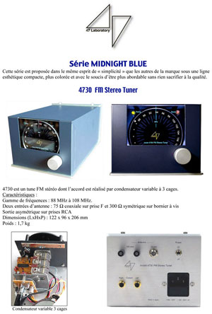 47 Laboratory Midnight Blue Series