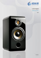 Adam Audio Loudspeakers 2011