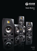 Adam Audio Studio Monitors 2015