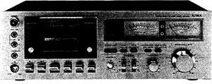 Aiwa ad 6550 manual stereo cassette deck with dolby for Balcony noise reduction