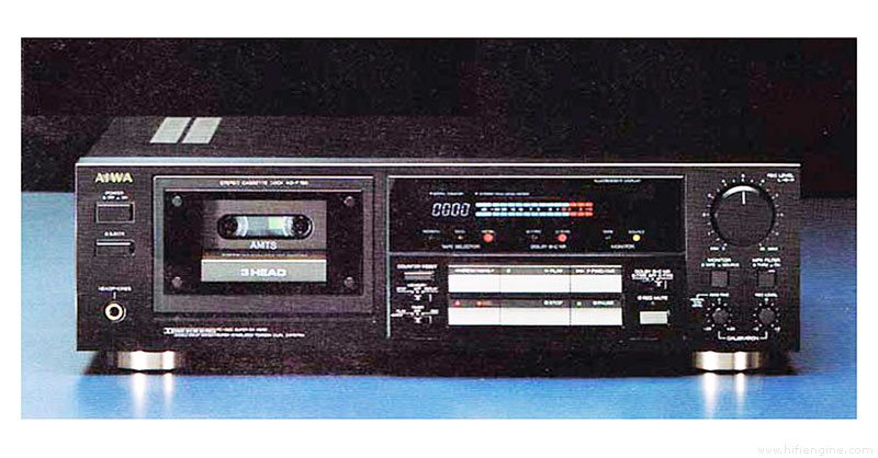 Aiwa Ad F780 Manual Three Head Stereo Cassette