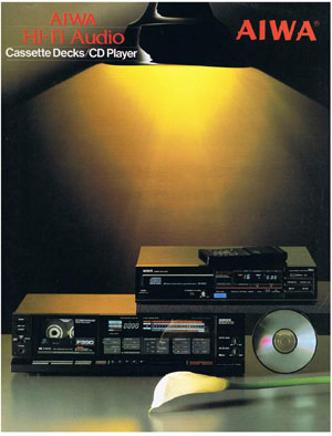 Aiwa Cassette Decks and CD Players