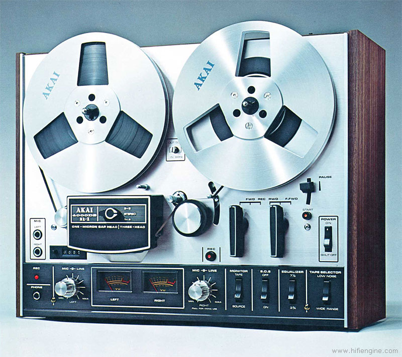 Akai 4000DS - Manual - Stereo Reel to Reel Tape Recorder