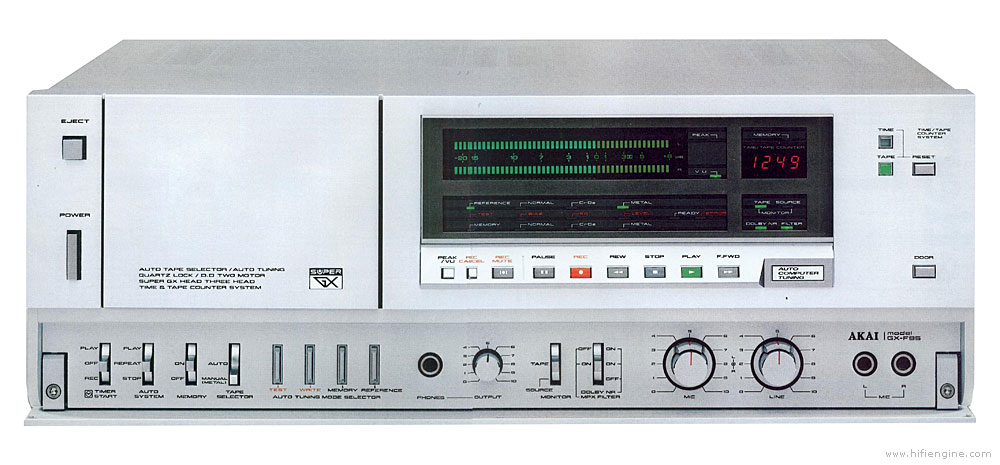 GUERRA CIVIL JAPONESA DEL AUDIO (70,s 80,s) Akai_gx-f95_front_panel