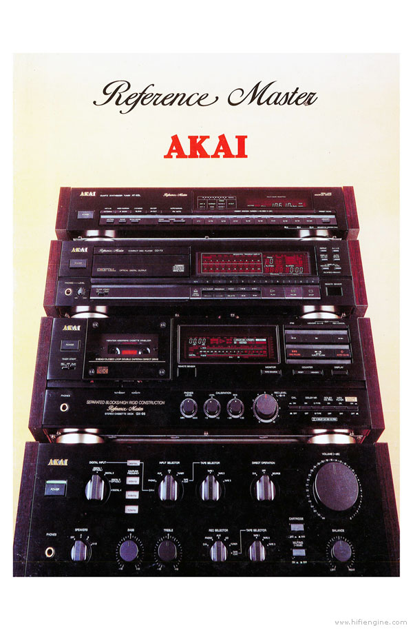Akai Reference Master Product Brochure
