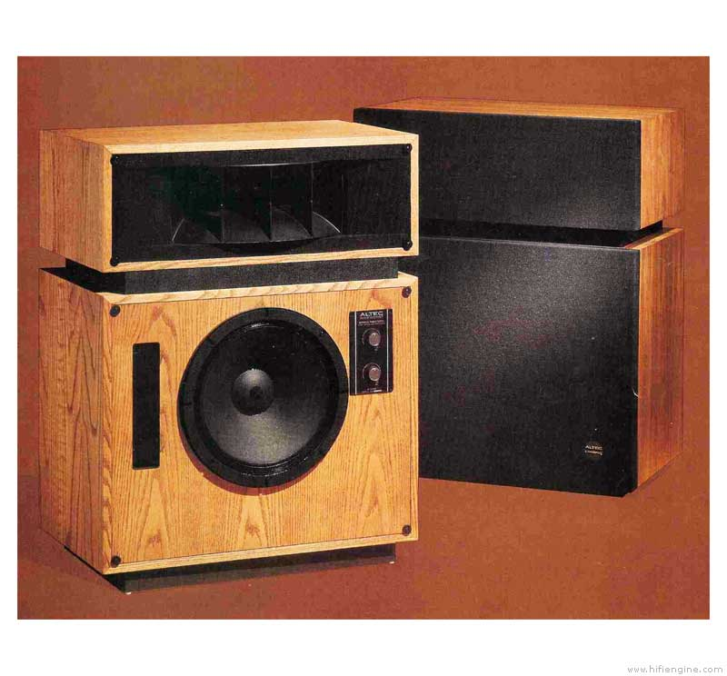 Altec Lansing 19 Studio Monitor Loudspeaker System Manual