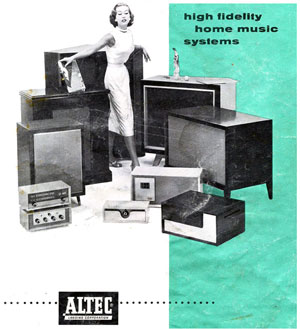 Altec Lansing High Fidelity Home Music Systems