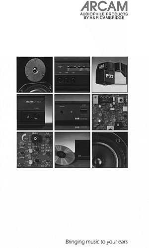 Arcam Audiophile Products