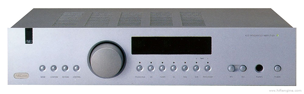 Arcam FMJ A22 - Manual - Stereo Integrated Amplifier - HiFi