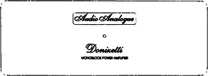 Audio Analogue Donizetti Mono