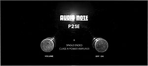 Audio Note P2SE