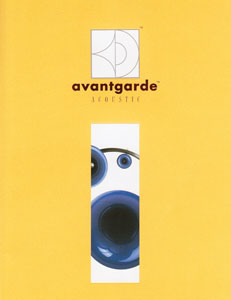 Avantgarde Acoustic Products 1998