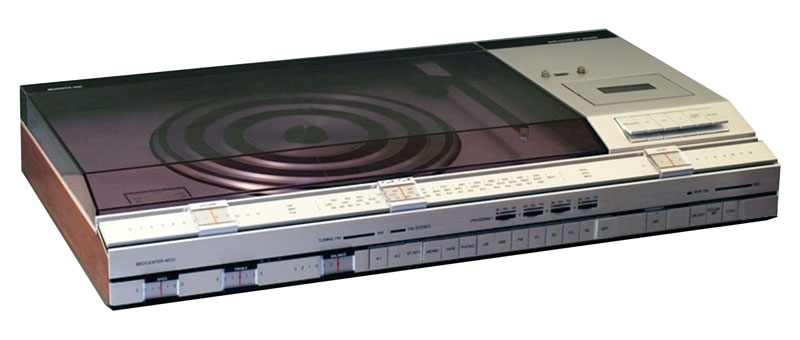 Bang And Olufsen Beocenter 4600 Stereo Music Center Manual