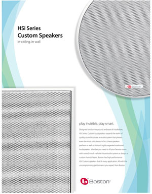 Boston Acoustics HSi Series