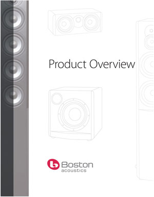 Boston Acoustics Product Overview