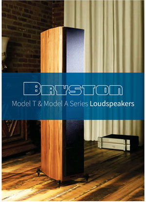 Bryston Model T and Model A Loudspeakers