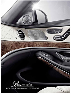 Burmester High End Sound For Mercedes Benz