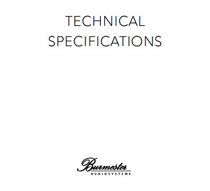 Burmester Technical Specifications