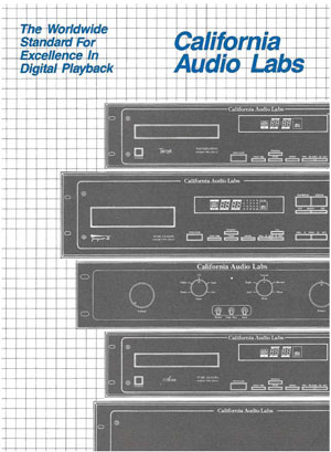 California Audio Labs Products
