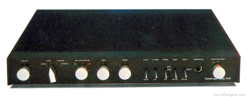 Cambridge Audio P60 - Manual - Stereo Integrated Amplifier
