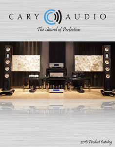 Cary Audio Design Products 2016