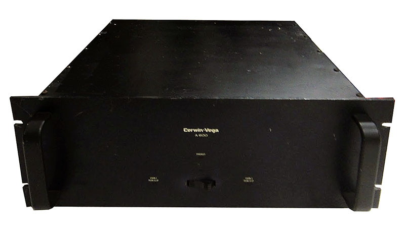 cerwin vega a-600 - manual - stereo power amplifier