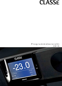 Classe Audio Products 2015