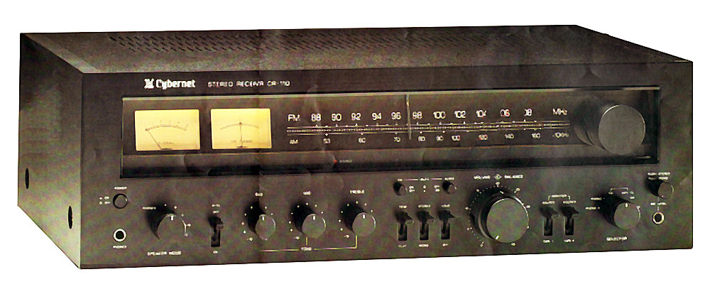 Cybernet Cr 110 Manual Am Fm Stereo Receiver Hifi Engine