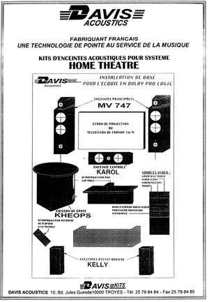 Davis Acoustics Home Theatre Kits