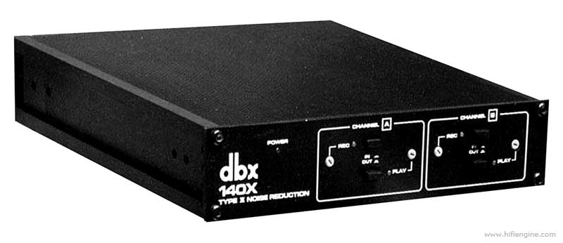 Dbx 140x - Manual - Type Ii Noise Reduction System
