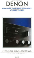 Denon Amplifiers and Tuners 1985