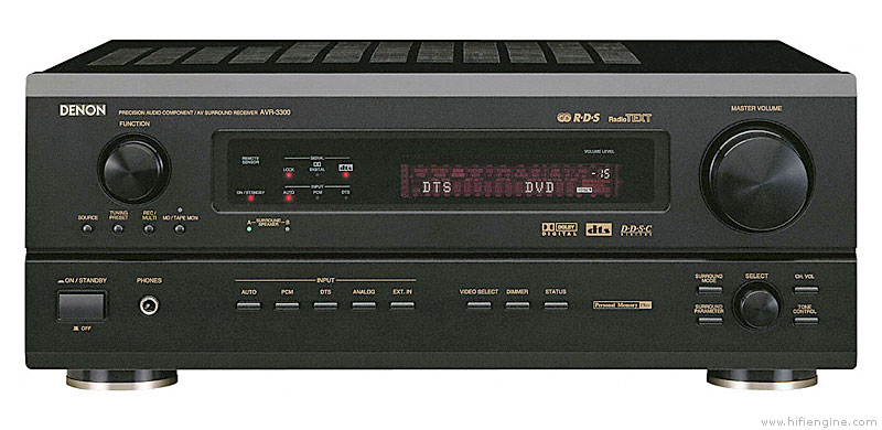 denon avr 3300 manual audio video surround receiver hifi engine rh hifiengine com denon avr-x3000 manual pdf denon avr-x3000 service manual