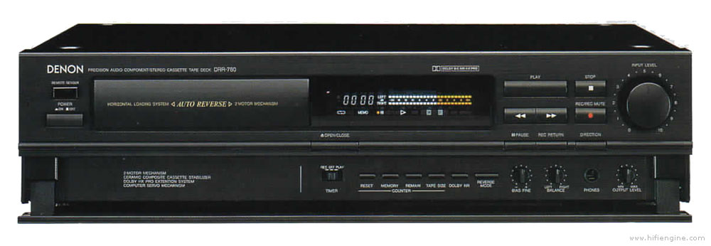 Auto Owners Login >> Denon DRR-780 - Manual - Stereo Cassette Deck - HiFi Engine