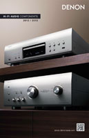 Denon HiFi Audio Components 2012-2013