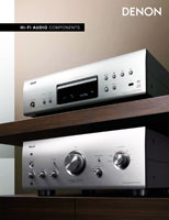 Denon HiFi Audio Components 2012