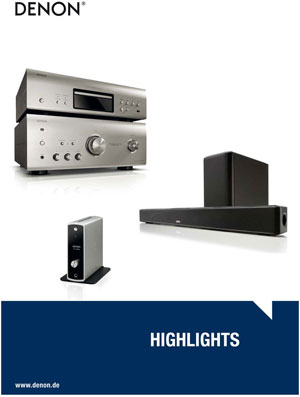Denon Highlights