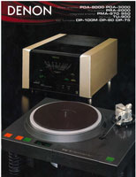 Denon Products 1981