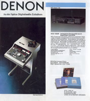 Denon Products 1986