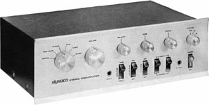 Dynaco PAT 4 Manual Solid State Stereo Preamplifier