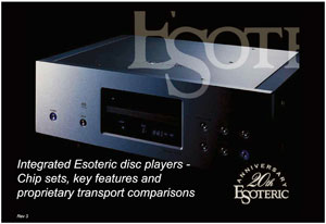 Esoteric Integrated Disc Players