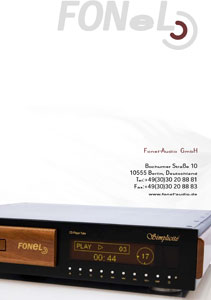 Fonel Audio Products 2010